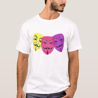 Anonymous Mask Logo T-Shirt