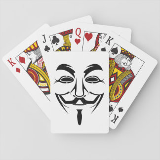 Anonymous Poker playing Cards