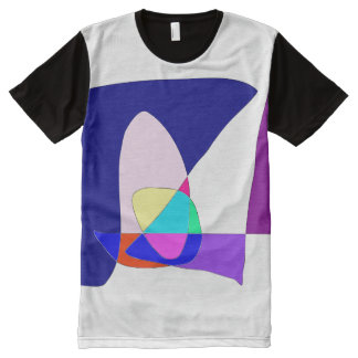 Anonymous Sailboat All-Over-Print T-Shirt