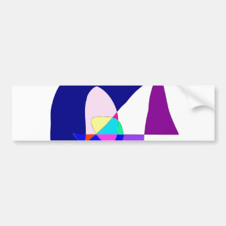 Anonymous Sailboat Bumper Sticker