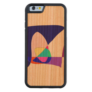 Anonymous Sailboat Carved Cherry iPhone 6 Bumper Case
