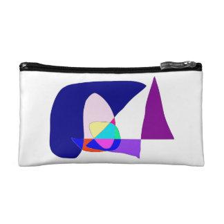 Anonymous Sailboat Cosmetic Bag