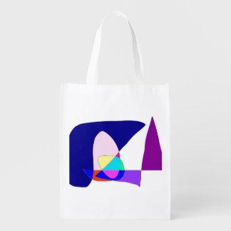 Anonymous Sailboat Reusable Grocery Bag