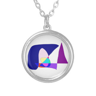 Anonymous Sailboat Silver Plated Necklace