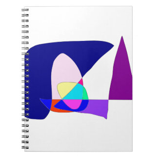 Anonymous Sailboat Spiral Notebook