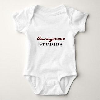Anonymous Studios Logo Baby Bodysuit
