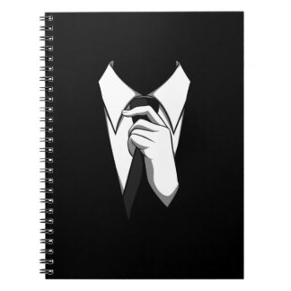Anonymous suit note books