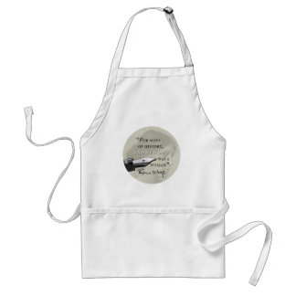 Anonymous Was a Woman ~ Virginia Woolf quote circl Standard Apron