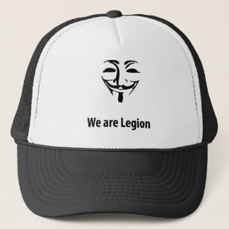 Anonymous We are legion (cap) Trucker Hat
