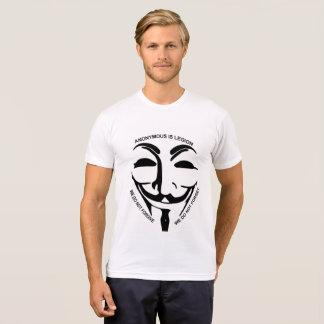 Anonymous White Tee Shirt