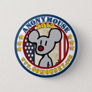 Anonymouse 2012 2 inch round button