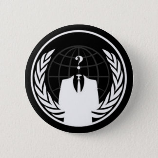 Anonywear Black Badge 2 Inch Round Button