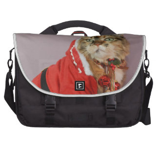 Another Christmas Santa cat Laptop Bags