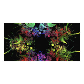 another-colourful-fractal photo greeting card