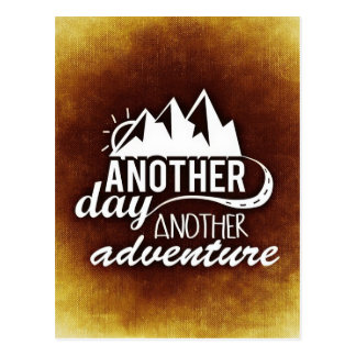 Another Day Another Adventure Postcard
