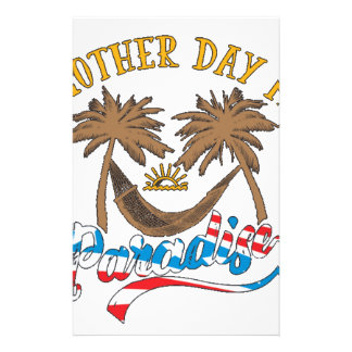 Another Day in Paradise Stationery