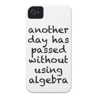 Another Day Without Algebra iPhone 4 Covers