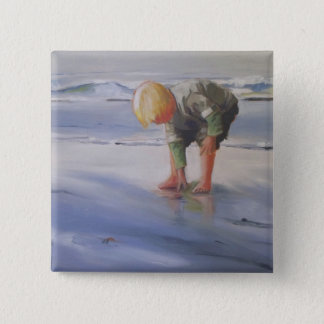 Another Great Shell 2 Inch Square Button