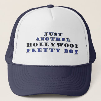 Another Hollywood Pretty Boy Trucker Hat (Navy)