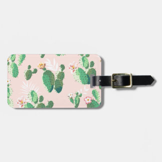 Another Lovely Cactus Flowers Luggage Tag