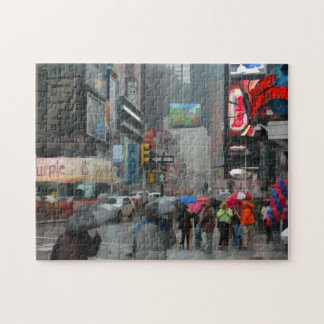 Another Rainy Day In New York City Photo Puzzle