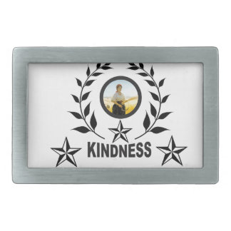 another round for kindness belt buckle