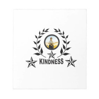 another round for kindness notepad