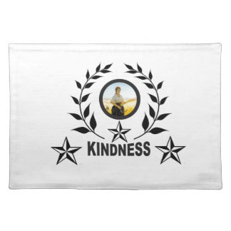 another round for kindness placemat