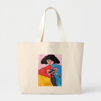 Another Round Large Tote Bag