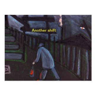 Another shift postcard