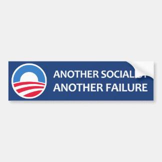 Another Socialist, Another Failure Bumper Sticker