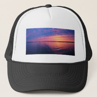Another sunset on the Great Lakes Trucker Hat