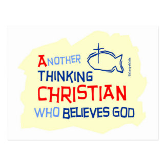 Another Thinking Christian Gift Design Postcard