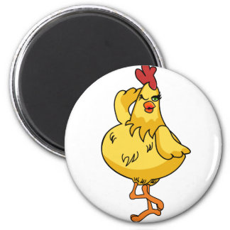 Another very silly Chicken Magnet