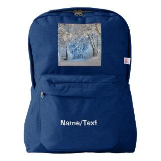 another winter wonderland backpack