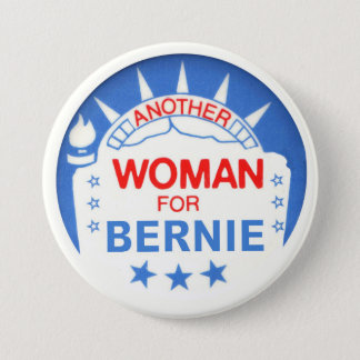 Another Woman for Bernie 3 Inch Round Button