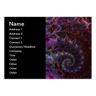 Another World Fantasy Fractal Art Abstract Business Card Templates