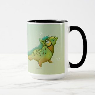 ANOUK CUTE ALIEN 15 oz Ringer Mug