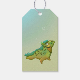 ANOUK CUTE ALIEN MONSTER  GIFT TAG