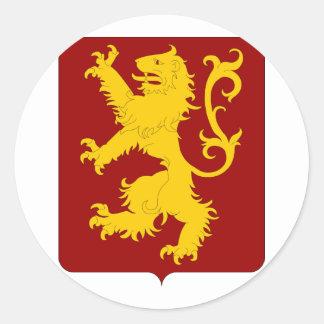 Ans, Belgium Classic Round Sticker