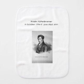 Anselm Huttenbrenner 1837 Burp Cloth