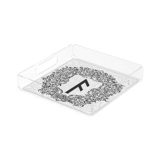 Ansuz-rune / Prosperity, Vitality Acrylic Tray