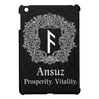 Ansuz-rune / Prosperity, Vitality iPad Mini Cover