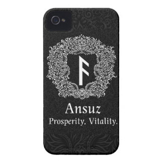 Ansuz-rune / Prosperity, Vitality iPhone 4 Covers