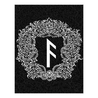 Ansuz-rune / Prosperity, Vitality Letterhead
