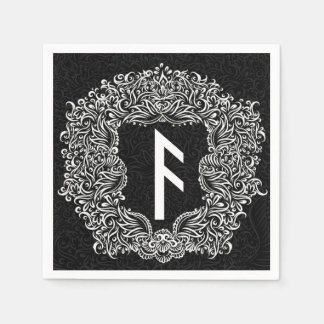 Ansuz-rune / Prosperity, Vitality Paper Napkins