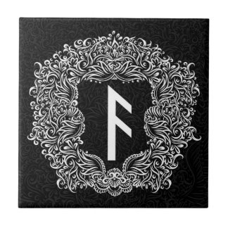 Ansuz-rune / Prosperity, Vitality Tile