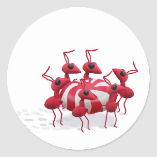 Ant and Candy Sticker