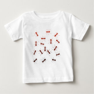 Ant antics. baby T-Shirt