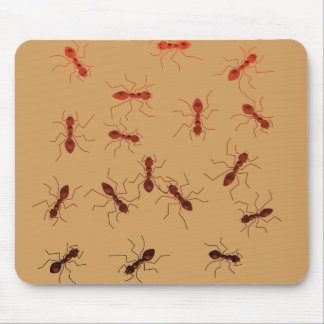 Ant antics. mouse pad
